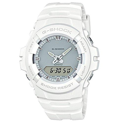G-Shock Men's Analog Digital G100CU-7A Watch White