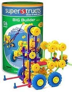 Waba Fun 0504 126 Piece Superstructs BIG BUILDER Building Set by Waba Fun