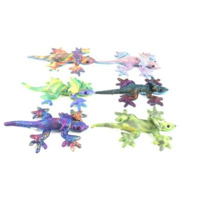 Small Sand Animal Frill Neck Lizard, assorted colours