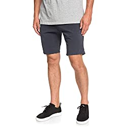 Quiksilver Krandy Walk Shorts, Hombre, Blue Nights, 36
