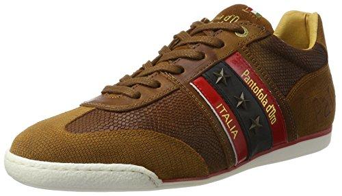 Pantofola d'Oro Herren Imola Funky Uomo Low Sneaker Braun (Tortoise Shell)