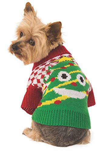 Rubie's Ugly Sweater mit Weihnachtsbaum, Extra-Large, Mehrfarbig