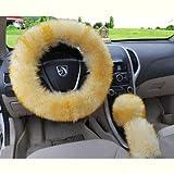 Auto volante set auto interno tipo generale pelliccia tre pezzi set,12