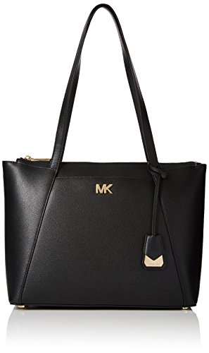 Michael Kors Damen Tote, Schwarz (Black), 13x35x28 Centimeters