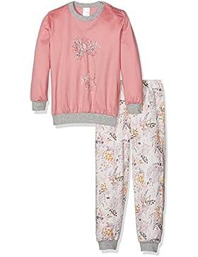 Calida Mädchen Zweiteiliger Schlafanzug Sweet Flower Pyjama Bündchen