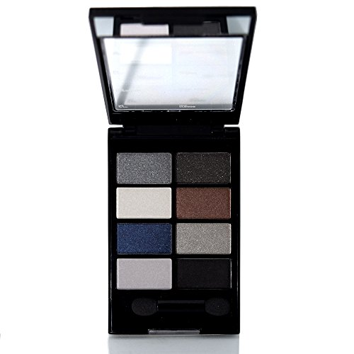Miss Claire Instyle Long Lasting Water Proof Eyeshadow Palette With Eye Shadow Applicator (9.5 Gram) Smoky