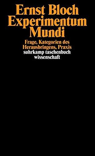 Gesamtausgabe in 16 Bänden. stw-Werkausgabe. Mit einem Ergänzungsband: Band 15: Experimentum Mundi. Frage, Kategorien des Herausbringens, Praxis (suhrkamp taschenbuch wissenschaft)