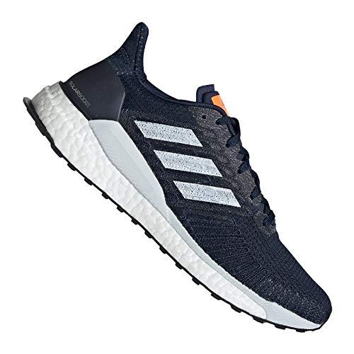 Adidas Boost Herren (adidas Performance Solar Boost 19 Laufschuh Herren dunkelblau, 9.5 UK - 44 EU - 10 US)