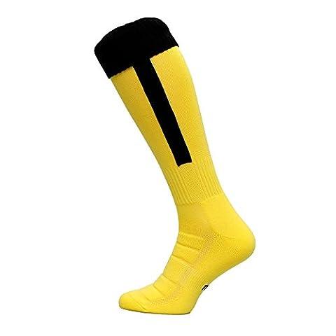 Chaussettes de football 100% thermoactive de type B - gelbschwarz 42-44