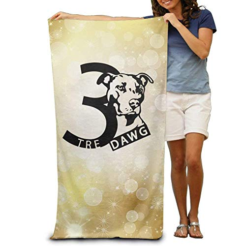 suzhouxiuying TOGEFRIEND TRE Dawg Omega Psi Phi Soft and Comfortable Unisex Beach Bathroom Bath Towel-Perfect for Home,Bathrooms,Pool and Gym Omega Baseball