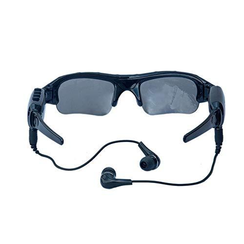 Videobrille Polarisiertes Bluetooth 4.1 Stereo-MP3-Musik Anruf anrufen Kamerabrille