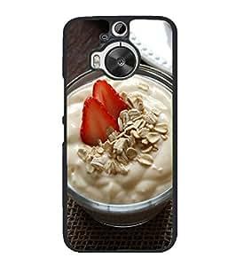 YuBingo HTC One M9 Plus :: HTC One M9+ :: HTC One M9+ Supreme Camera 2D Designer Phone Back Case Cover ( Healthy Breakfast )