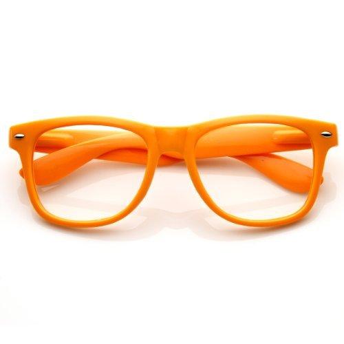 ZeroUV Herren Sonnenbrille schwarz schwarz Einheitsgröße Gr. Einheitsgröße, Orange