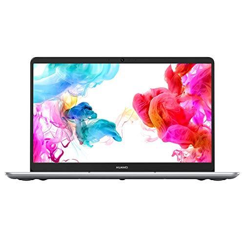 """Huawei Matebook D - Ordenador portátil 14"""" FullHD (AMD Ryzen R5-2500, 8GB RAM, 256GB SSD, AMD Vega 8, Windows 10) Plata - Teclado QWERTY Español"""