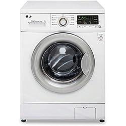 LG F 14B8 TDA7 Waschmaschine Frontlader / A+++ A / 1400 UpM / 8 kg / Weiß / Aqua Stop Sicherheitsschlauch / Digitales Display
