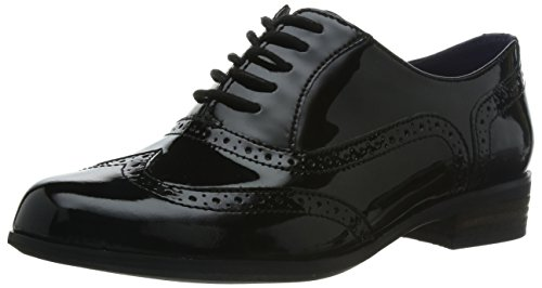 Clarks Hamble Oak, Women's Derby, Black (Black Pat), 6.5 UK (40 EU)