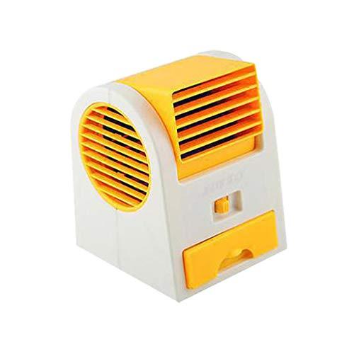 Mini Luftkühler, Mobile Klimageräte USB Tragbare Klein Persönliche Klimaanlage Luftkühler Mini Persönlicher Luftkühler Ventilator mit 3 Geschwindigkeiten für Home Office Draussen