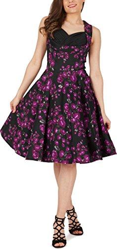 Vintage Kleid im 50er Jahre Stil Schwingender Rock - 4