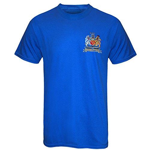 Manchester United - T-shirt des légendes Best et Charlton - style rétro