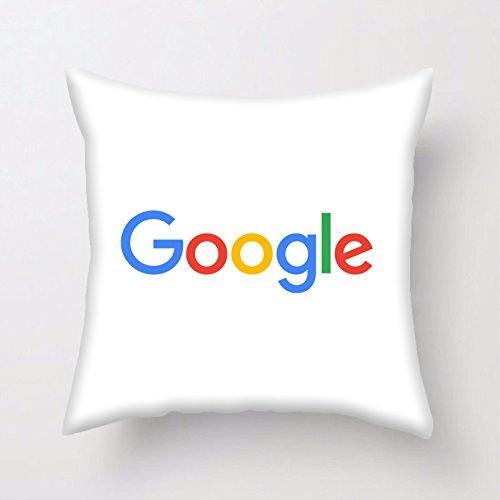 Preisvergleich Produktbild Sozial Medien Kissenbezug Gedruckt & Gemacht im UK (Google With Pad) DE