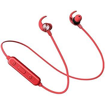 Rhythm&Blues A10BT in-Ear Bluetooth Wireless Earphones with mic (Red)