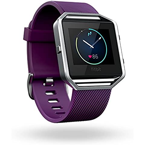 Fitbit Blaze - Smartwatch para actividad física, color Ciruela, talla  L