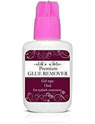 Premium Gel Type Dissolvant De Colle / Pamplemousse Parfumé Solvant - 15ml - Extensions De Cils - Détachant odeur pamplemousse