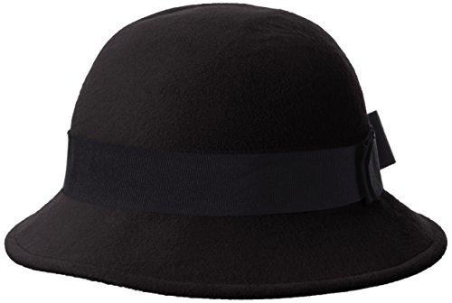 Mount Hood Coventry, sombrero de fieltro Mujer, Negro (schwarz), 57 cm (Talla del fabricante: Talla única)