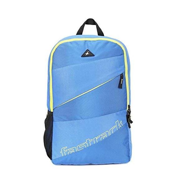 Fastrack Blue Unisex Backpack A0636NBL01