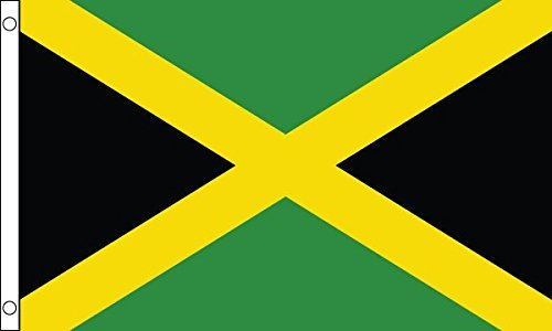 Mini, motivo bandiera giamaicana, 22,86 cm x (6 (9 15,24 cm)