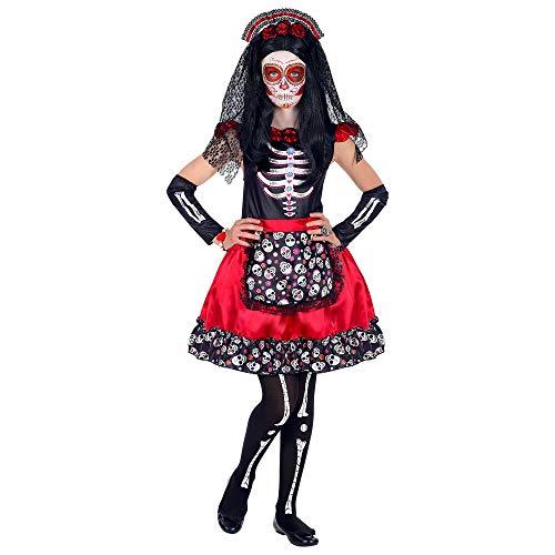 WIDMANN Disfraz Mujer Dia de los Muertos