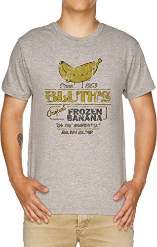 Bluth's Original Frozen Banana - Vintage - Vintage Herren T-Shirt Grau -