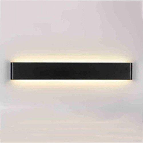 Badezimmerbeleuchtung LED-Spiegel-Scheinwerfer, Aluminium-Wand-Lampe Nachttisch-Lampen-Wohnzimmer Schlafzimmer-Gang-Badezimmer-Spiegel-vorderes helles modernes Licht (Farbe : Warmweiß-14w/41cm-B)