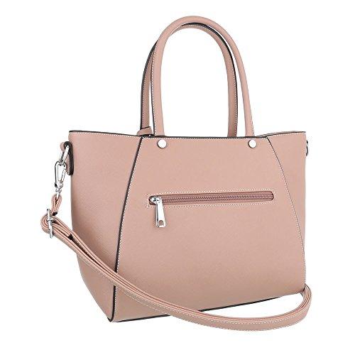 Taschen Handtasche Altrosa