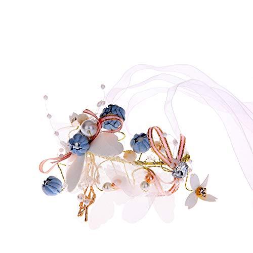 Gruppe Kostüm Drei Mädchen - Jewelry M die Krone koreanischer diamantschmetterling Braut Handgelenk Blume Brautjungfer Schwestern Gruppe Armband, koreanisch Armband