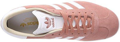 adidas Gazelle, Baskets Basses Femme Violet (Ash Pearl/footwear White/linen)