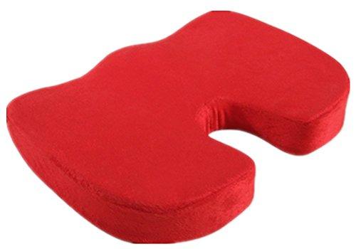 Confort Red Memory Foam Seat président Coussin