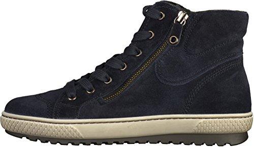 Gabor 53.754 Damen Sneakers Blau
