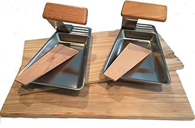 Grill-Pfännchen und Räucher-Bretter aus Zedern-Holz im 4er Set