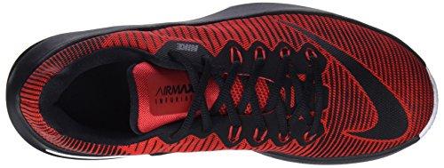 Nike Air Max Infuriate II, Scarpe da Basket Uomo Rosso (University Red/black White 600)
