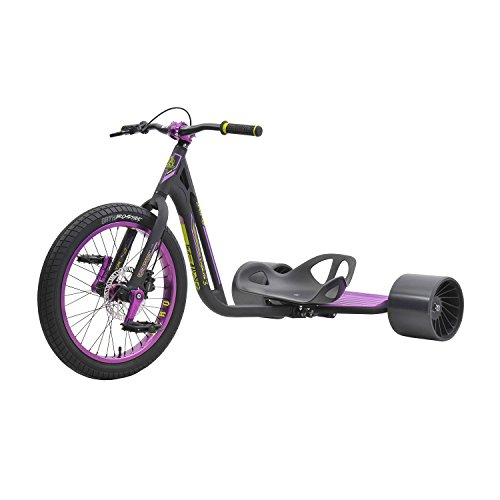 FireCloud Cycles Triad Pro Disc Drift Trike - Sindicato 3 en Color Negro y...