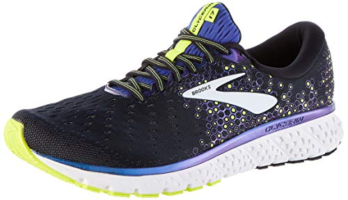 Brooks Glycerin 17, Scarpe da Running Uomo, Nero (Black/Blue/Nightlife 069), 48.5 EU