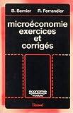 Microéconomie, exercices et corrigés