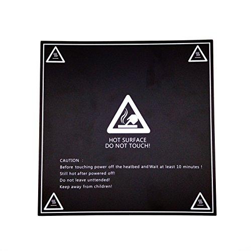 AptoFun New high-quality 3D printing platform film for 3D printer heated bed / printing bed Mk3 printing platform in black