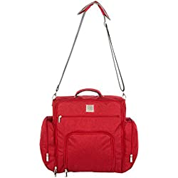Mee Mee Stylish Multi-Function Diaper Bag (Backpack-Style, Maroon)