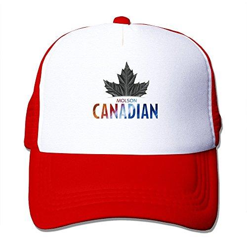 huseki-cool-molson-canadian-trucker-mesh-gorra-de-beisbol-tiene-red