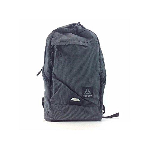 Reebok Jungen Motion U Active Backpack Rucksack, Schwarz (Negro), 45 x 24 x 15 cm (Rucksack Reebok Kinder)
