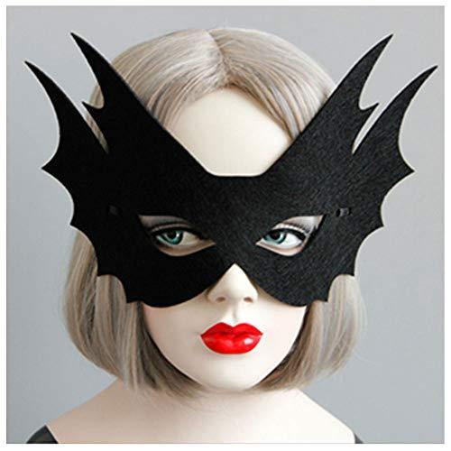 2018 Hot Black Fisch Menschliches Gesicht Grimasse Kreative Halbe Gesichtsmaske Gentleman Schönheit Halloween Weihnachtsfeier COS Kinder Erwachsene Männer Und Frauen