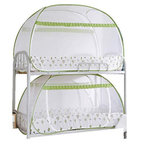 HEXbaby Faltbare Moskitonetz Zelt Baldachin Vorhänge für Betten Home Schlafzimmer Dekor,lowershop150*190 * 95cm