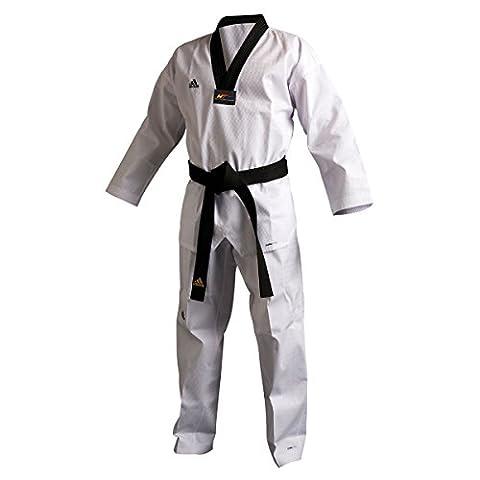 Adidas Taekwondoanzug ADI CHAMP III schwarzes Revers 170